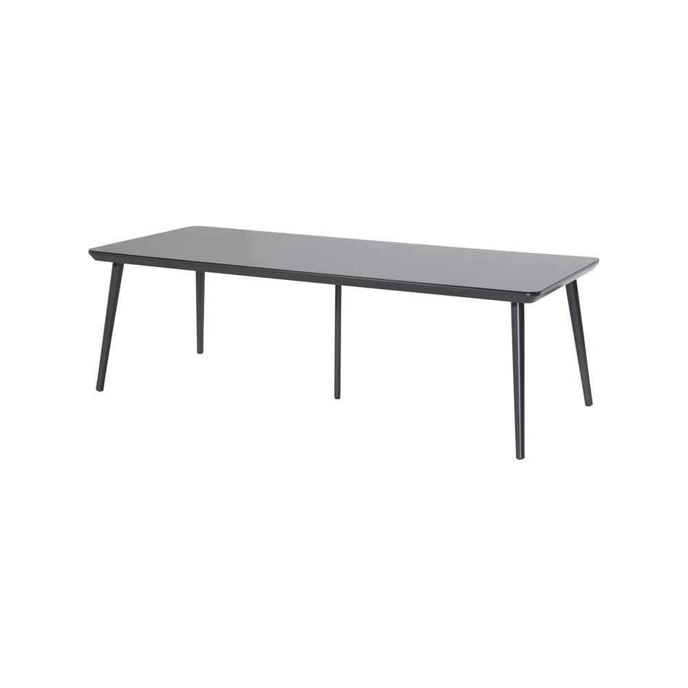 Čierny záhradný stôl Hartman Sophie Studio, 240 × 100 cm