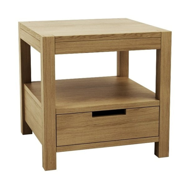 Nočný stolík z dubového dreva Fornestas Sims