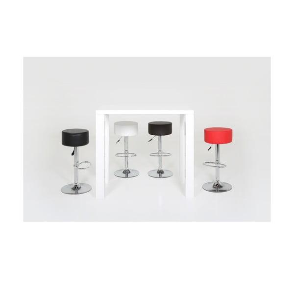 Barová stolička Dumpling, čierna