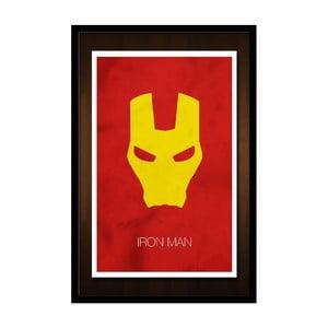 Plagát Iron Man Mask, 35x30 cm