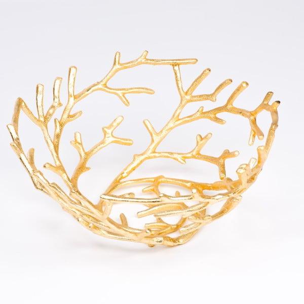 Misa Branch 40 cm, zlatá