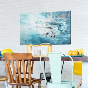 Obraz na plátne OrangeWallz Abstract Pale Blue, 70 x 118 cm