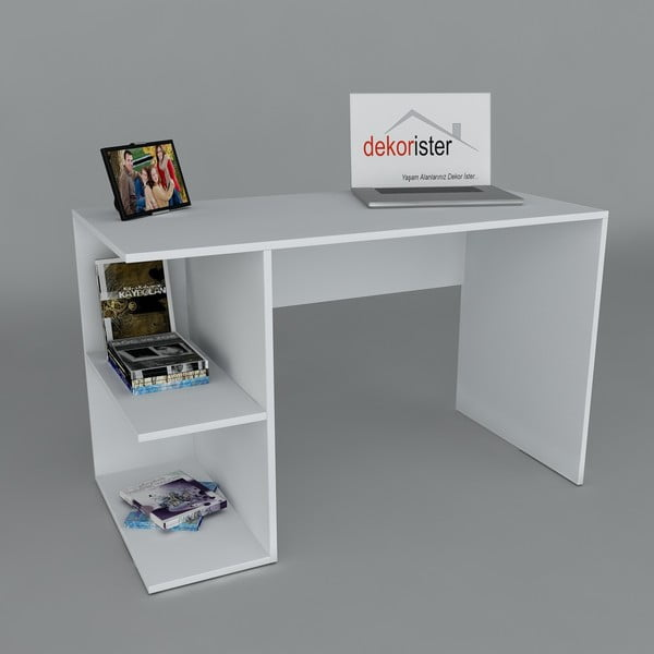 Pracovný stôl Elegance White, 60x120x75 cm