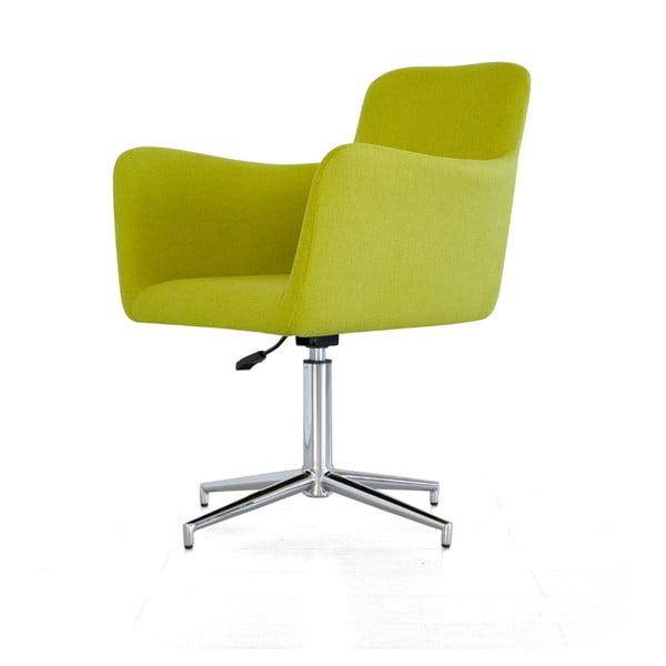Posúvna stolička Pan, zelená