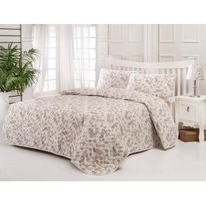 Sada prešívanej prikrývky na posteľ a vankúš Single 197, 160x220 cm