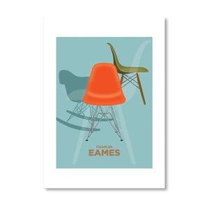 Autorský plagát Charles Eames