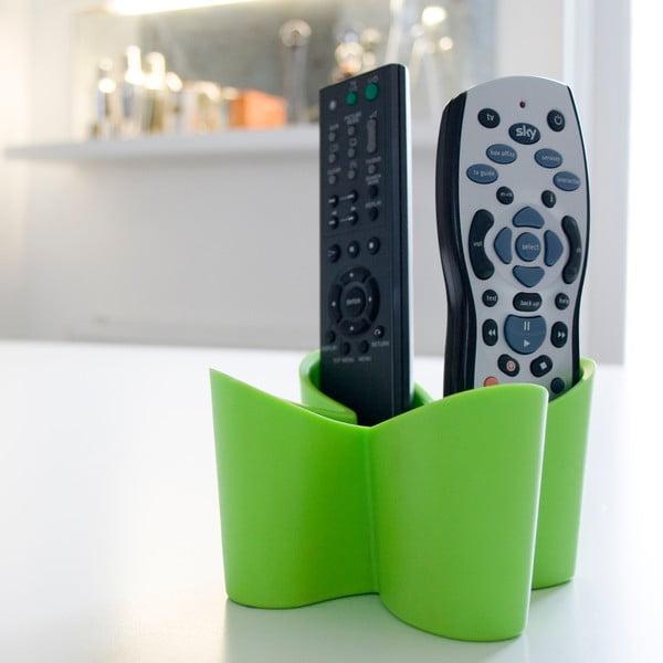 Zelený stojan na diaľkové ovládače J-Me Cozy Remote Tidy