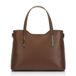 Hnedá kožená kabelka Markese Terra