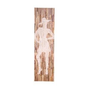Nástenná dekorácia z mangového dreva House Nordic Jali