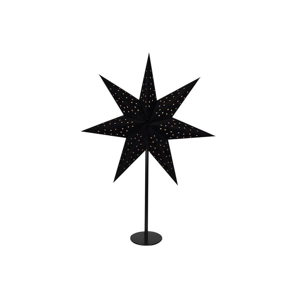 Čierna svetelná dekorácia Markslöjd Clara, výška 65 cm