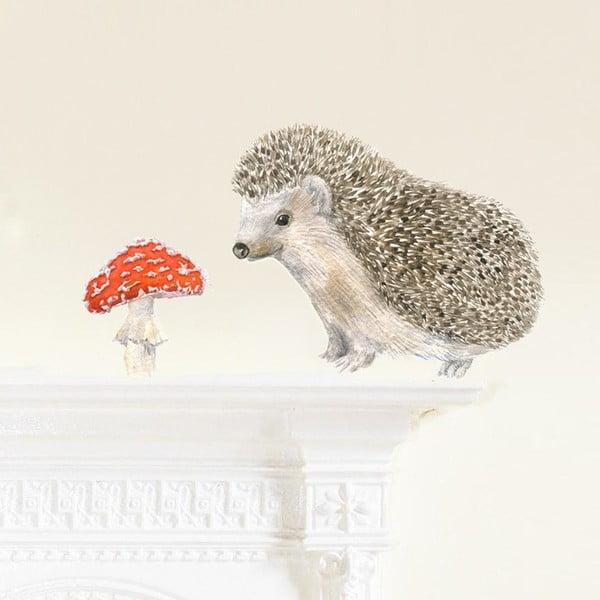 Samolepka na viac použití Hedgehog Mini