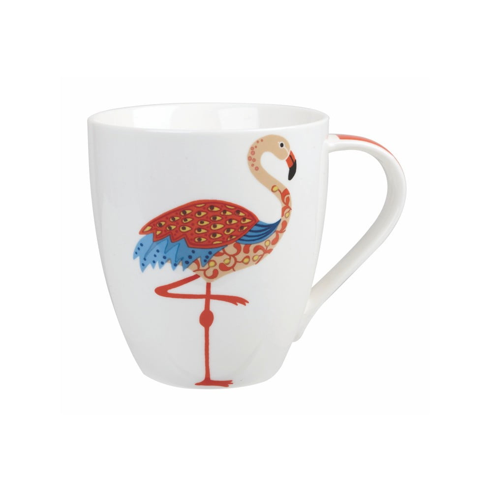 Hrnček z kostného porcelánu Churchill China Couture Flamingo, 500 ml