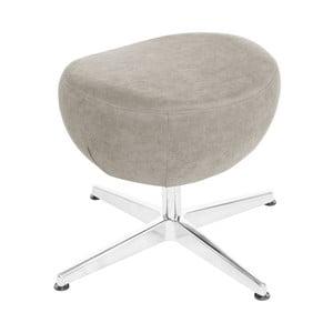 Krémová otočná stolička/podnožka My Pop Design Vostell