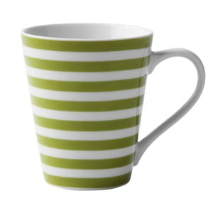 Porcelánový hrnček Lime Striped