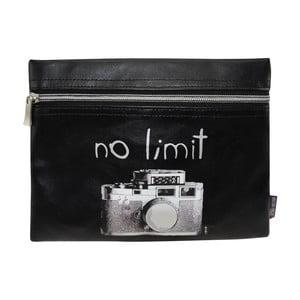 Čierne puzdro Incidence No Limit, 22,5 x 17,5 cm