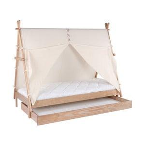 Zásuvka z borovicového dreva pre detskú posteľ BLN Kids Apache