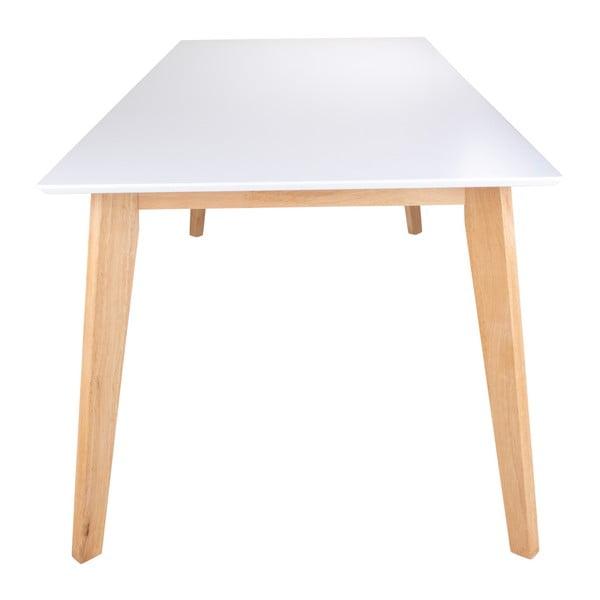 Jedálenský stôl s prírodnými nožičkami loomi.design Vojens, 210×90cm