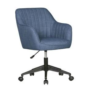 Modrá pracovná stolička na kolieskach Skyport Amstyle Mara