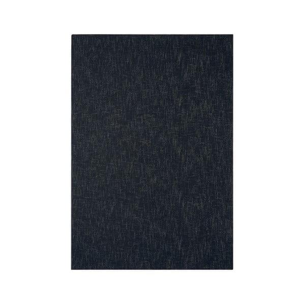 Vlnený koberec Tweed Charcoal, 170x240 cm