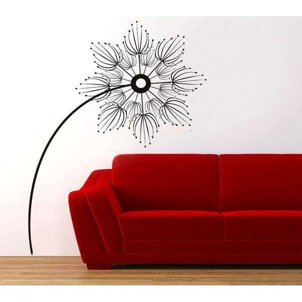 Dekoratívna samolepka na stenu Abstraktný kvet