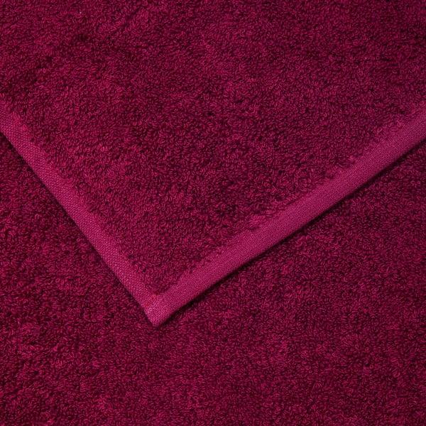 Sada 6 vínových bavlnených uterákov Casa Di Bassi Guest, 30×50cm