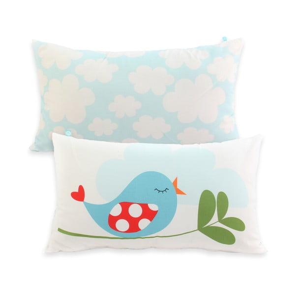 Obojstranná bavlnená obliečka na vankúš Mr. Fox Little Birds 50 × 30 cm