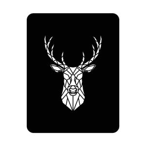 Nástenná svetelná dekorácia Deer, 67 × 82 cm
