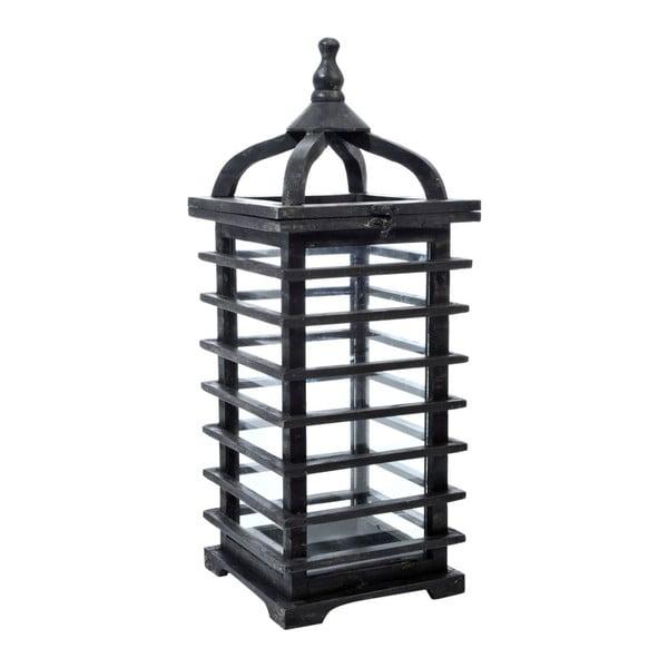 Lampáš Oriental Black, 25x25x62 cm