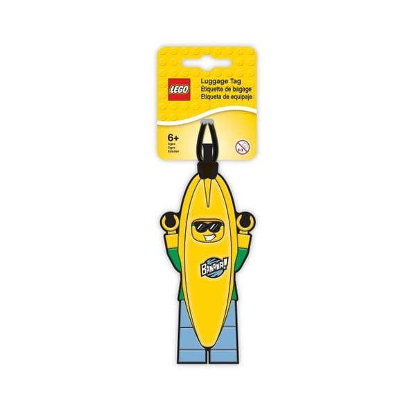 Menovka na batožinu LEGO® Banana Guy