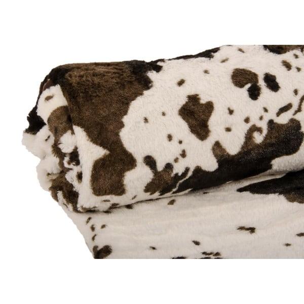Pléd Vache Brun, 130x150 cm