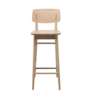 Barová stolička z dubového dreva Wewood - Portugues Joinery Country