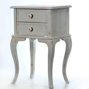 Odkladací stolík Rustik Patine, 45x33x70 cm