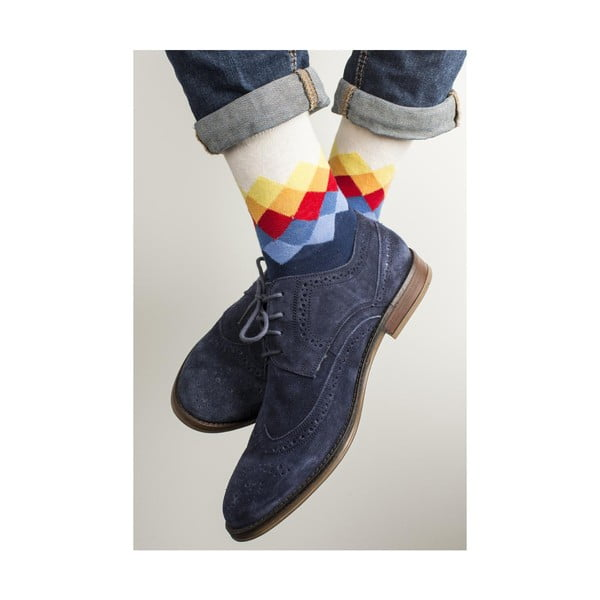 Sada 4 párov unisex ponožiek Funky Steps Luka, veľkosť 39/45