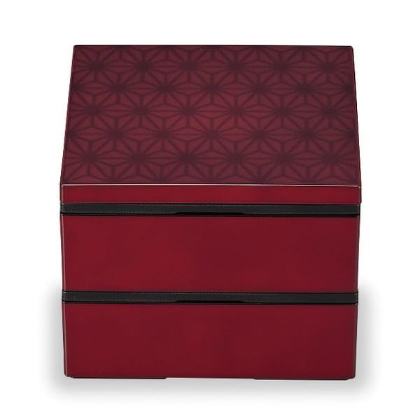 Červený desiatový box Joli Bento Wamoyou, 1,2 l