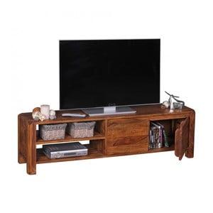 TV komoda z masívneho sheeshamového dreva Skyport BOHA