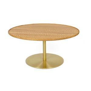 Konferenčný stolík s doskou z dubového dreva Askala Softy