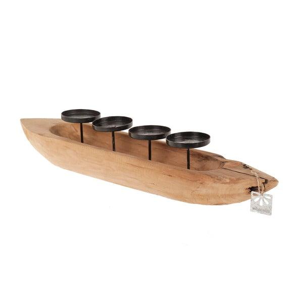 Svietnik  Dijk Natural Collections Teak Boat
