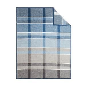 Deka Blue Checked, 150x200 cm