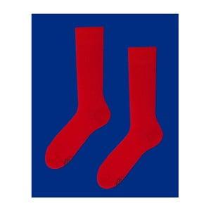 Ponožky Many Mornings True Red, veľ. 35/38