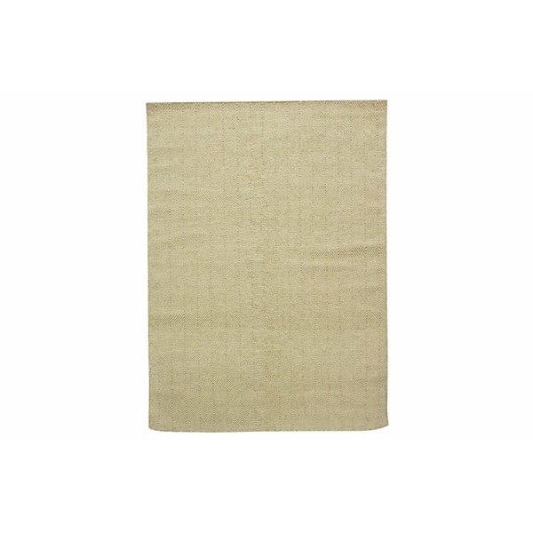 Vlnený koberec Kilim Dimond Olive, 160x230 cm