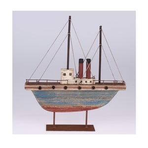 Drevená dekorácia Loď