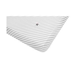 Detská bavlnená plachta BELLAMY Stripes, 60×120 cm