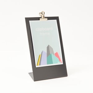 Sivý rámik na fotku Clipboard Medium