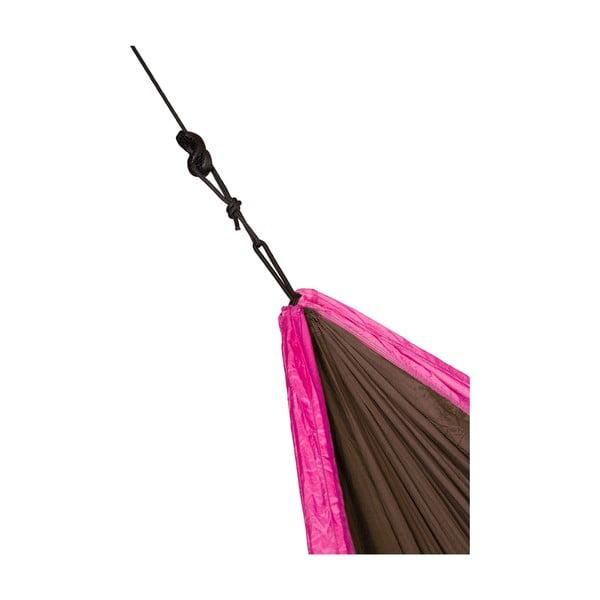 Cestovný závesný vak pre dvoch Colibri, čierny/ružový