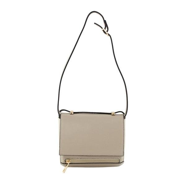 Taupe kožená kabelka Polly