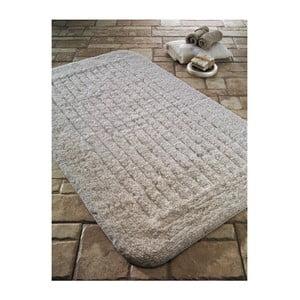 Krémová predložka do kúpeľne Confetti Bathmats Cotton Stripe, 60×100cm