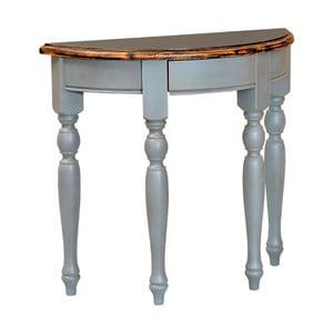 Polkruhový konzolový stolík Spruce