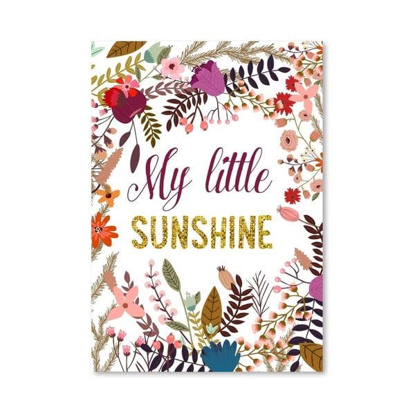 Plagát od Mia Charro - My Little Sunshine