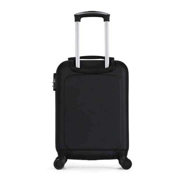 Sada čierného cestovného kufra na kolieskach a menšieho kufríka VERTIGO Valises Cabine & Vanity Case