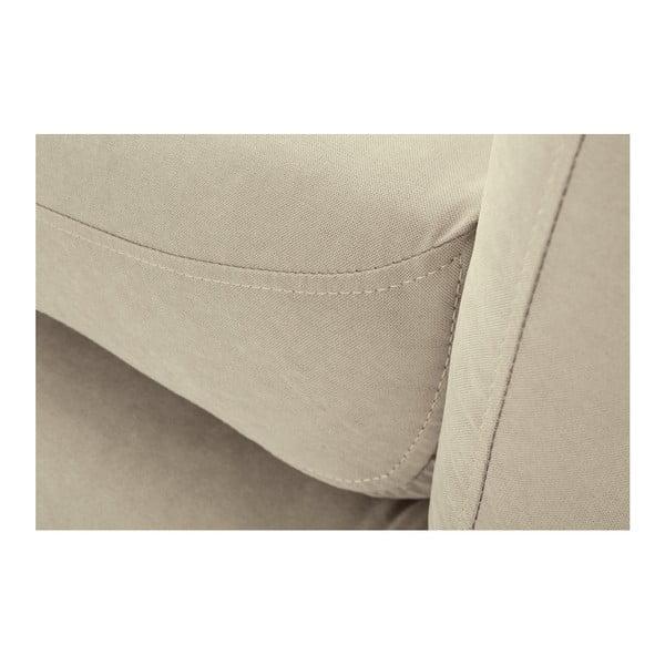 Béžová rohová trojmiestna pohovka Scandi by Stella Cadente Maison, pravý roh